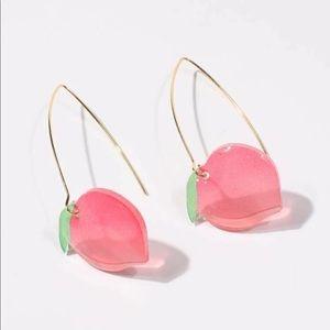 New peachy Peach Drop Earrings